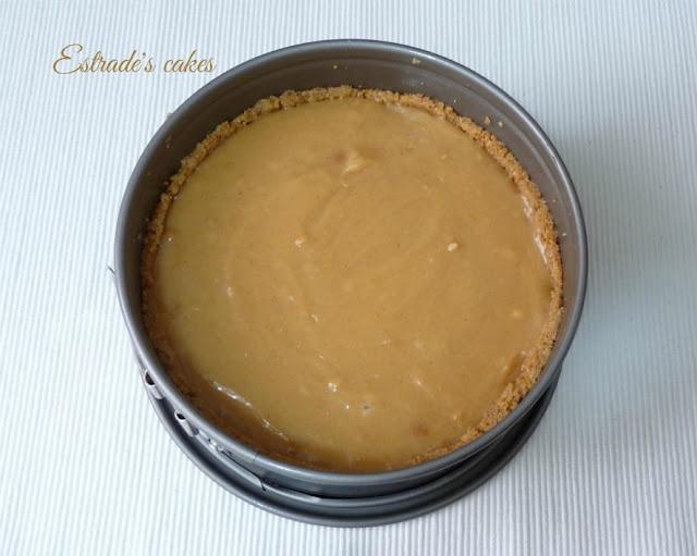 Receta de tarta de de queso de crema de cacahuetes (masa)