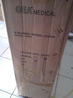 Kardus Kursi Roda GEA Standard FS871