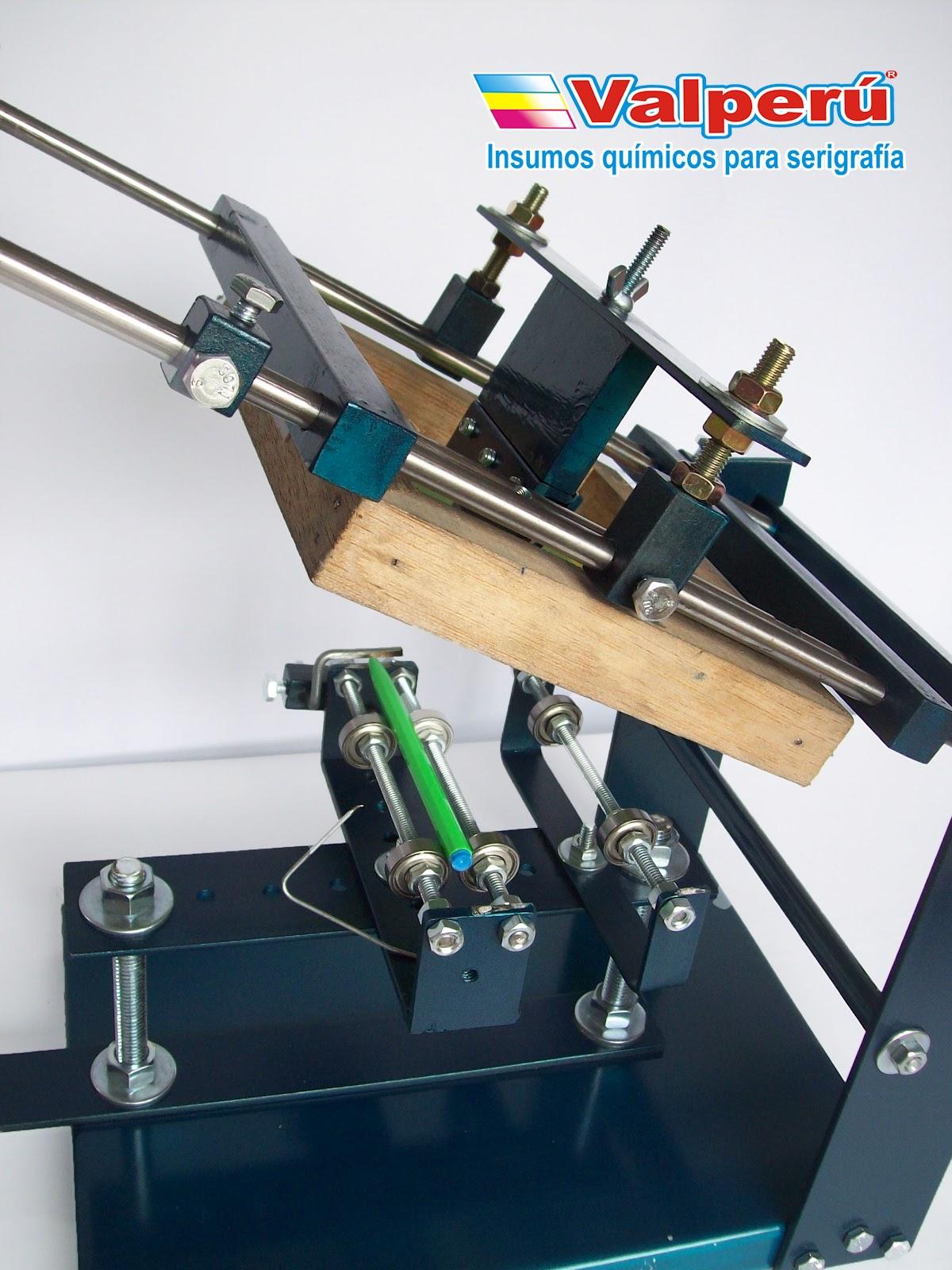 Valperu Maquina Impresora De Lapiceros Y Frascos