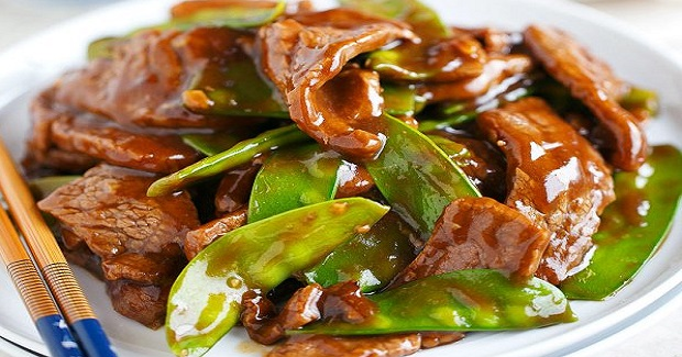 25-Minute Beef And Snow Pea Stir Fry Recipe