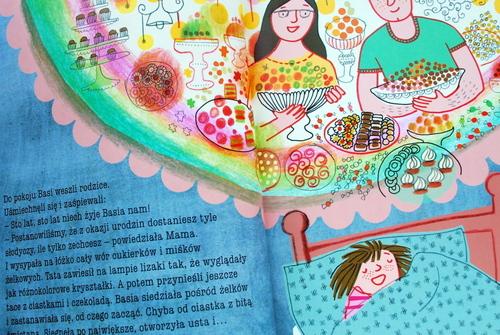 Piękny sen o słodyczach