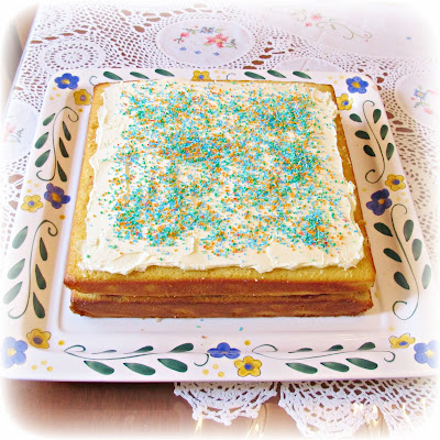 image fairy bread cake birthday