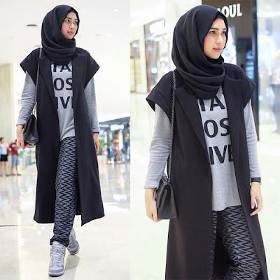 Trend fashion hijab dengan blazer