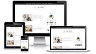 Blog Way blogger template