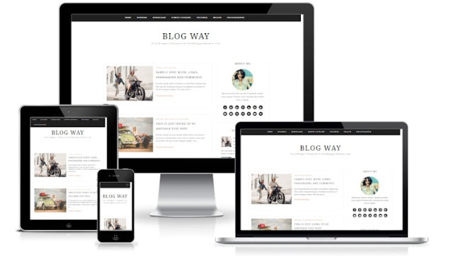 Blog Way blogger template