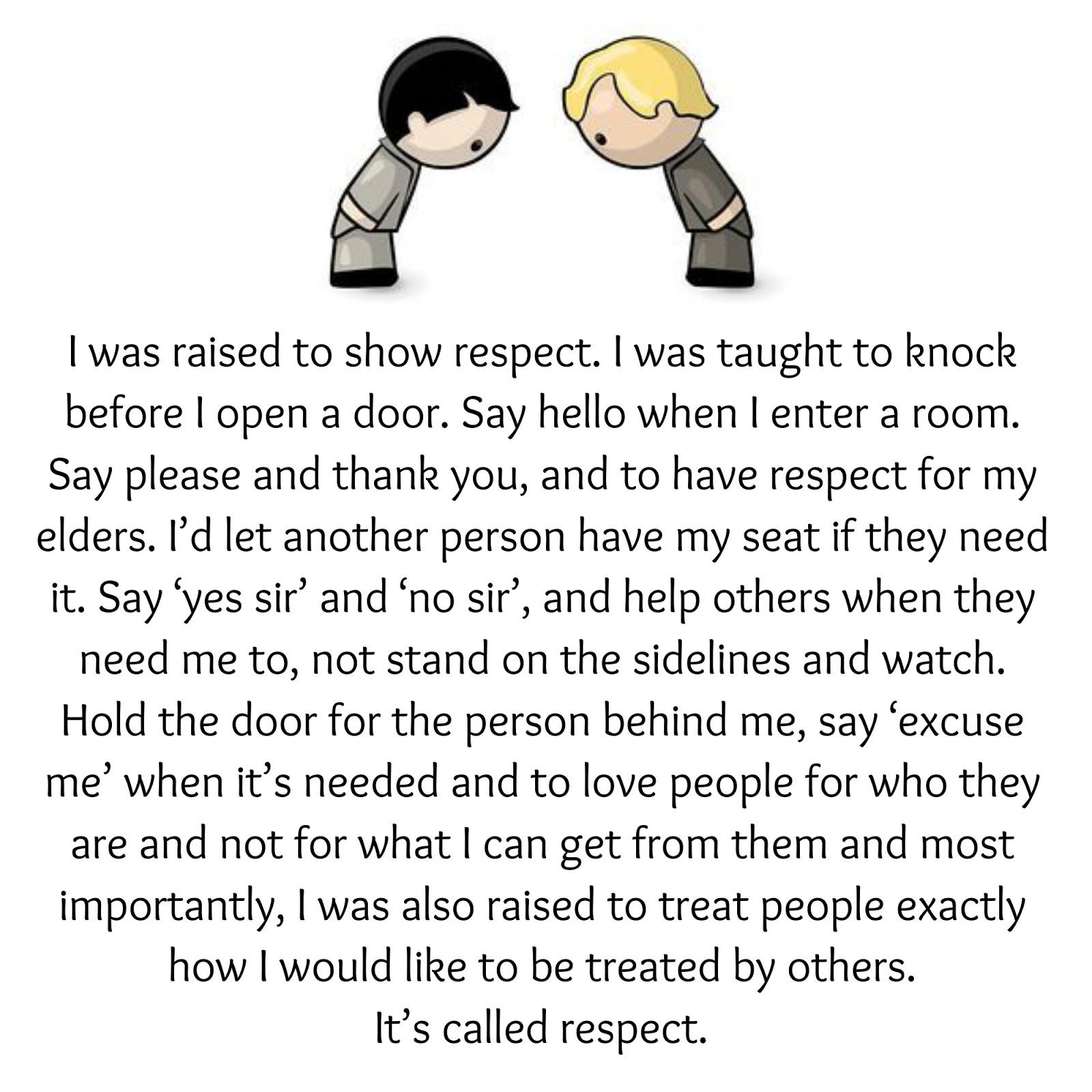Sayari Tube I Was Raised To Show Respect