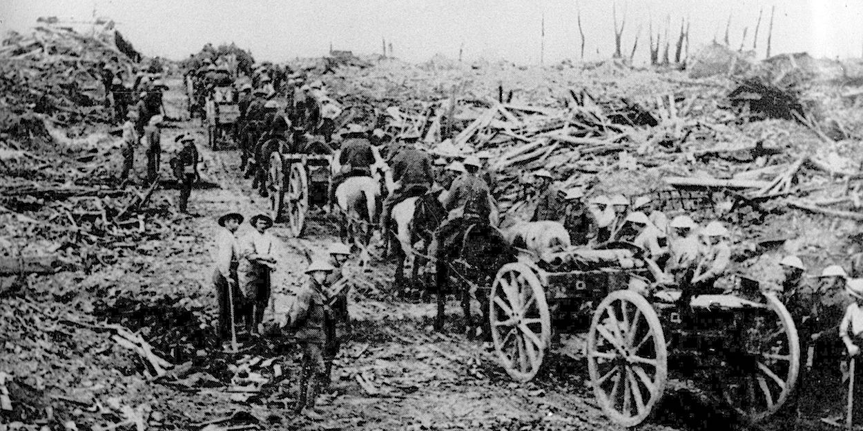 Longueval WW1
