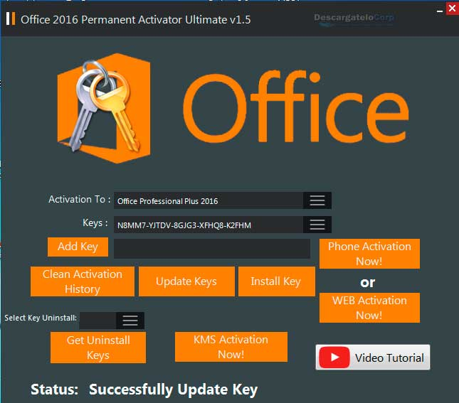 Office 2016 Permanent Activator Ultimate Final 2017