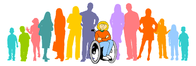 Image showing an inclusive society