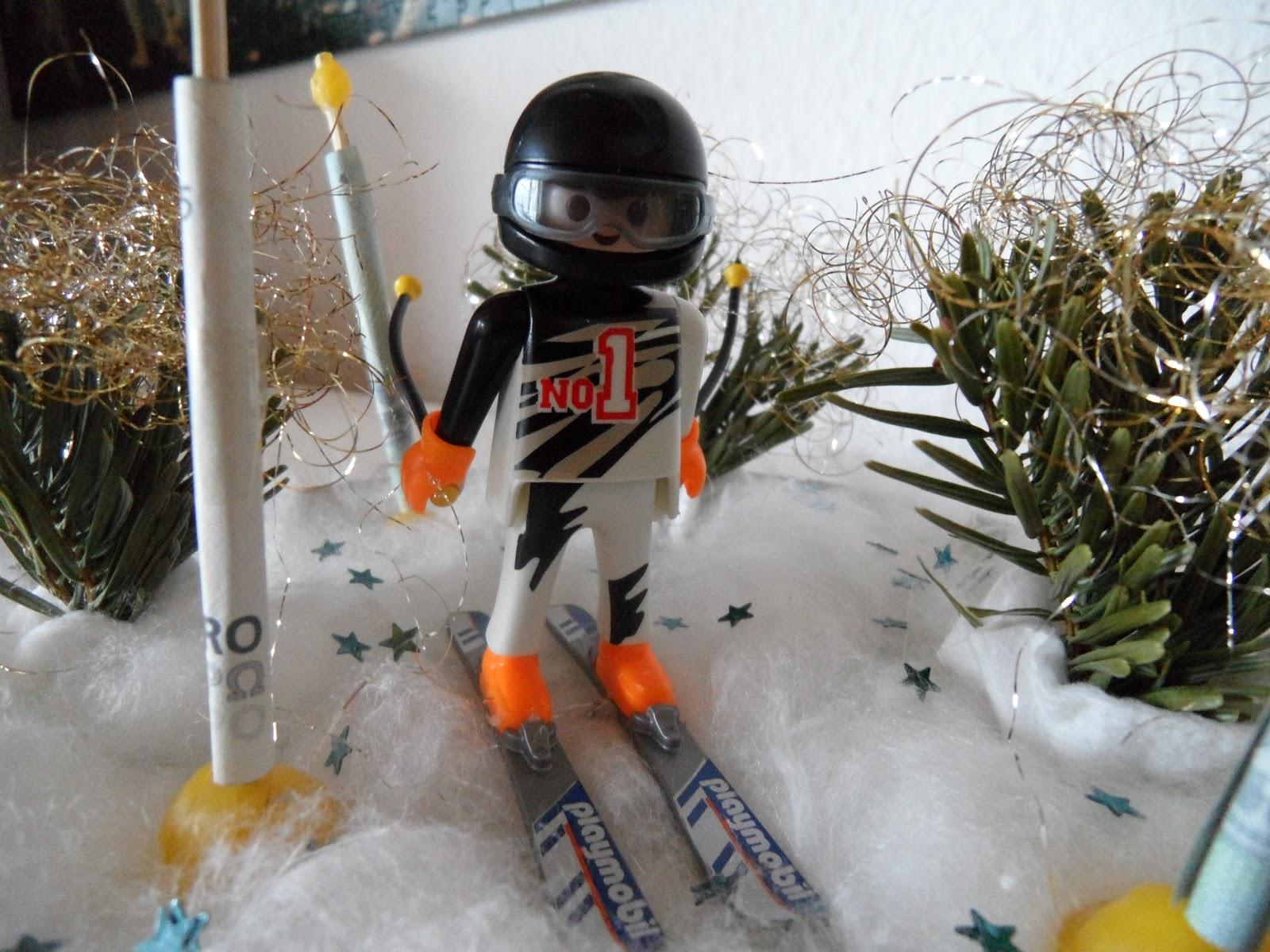 Josettas Welt Basteltipp Geldgeschenk Fur Wintersportler