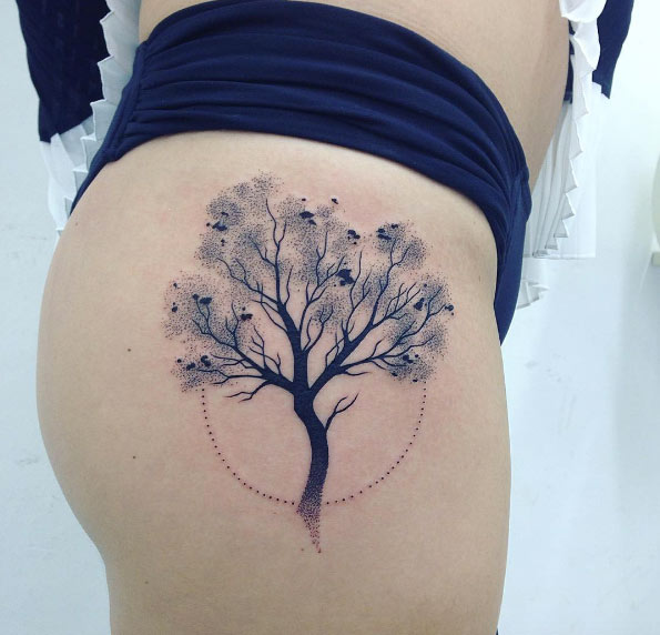 16 Popular Tree Tattoos Ideas