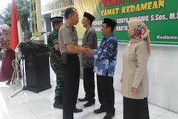 Pamit Kenal Camat Kedamean Kabupaten Gresik Berlangsung Khidmat.