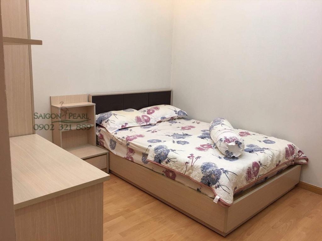 Topaz 2 Saigon Pearl cho thuê căn hộ 86m2 full nội thất tầng thấp giá rẻ - phòng ngủ phụ