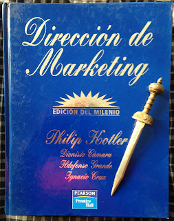 Portada del libro Dirección de Marketing, de Philip Kotler