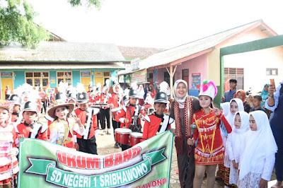 Chusnunia Dukung Lomba Desa Berprestasi dan Bulan Bhakti Gotong Royong Masyarakat