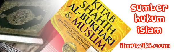 Sumber Hukum Islam - ilmuwiki