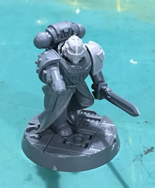 Heretic Astartes Kill Team WIP - The Fallen Zealot