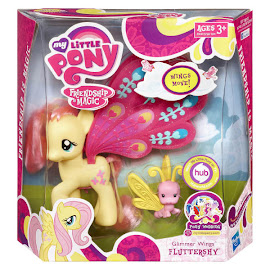 My Little Pony Glimmer Wings Fluttershy Brushable Pony