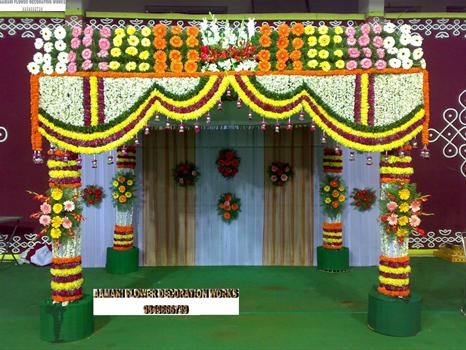 Flower Decoration In Wedding My Life