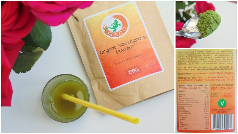 Review: Geco Wheatgrass Powder