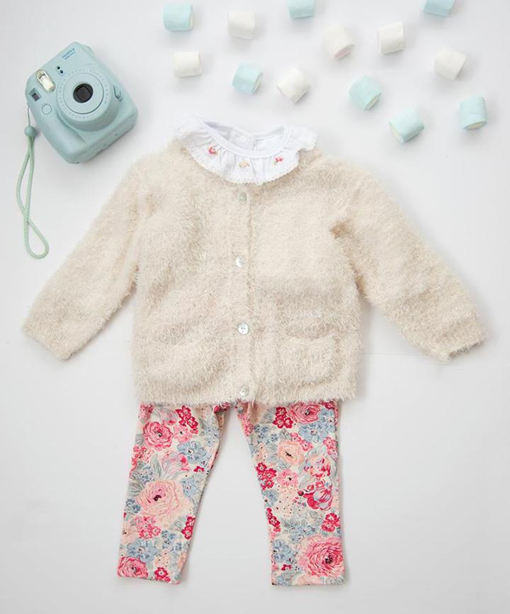 Moda invierno 2017 ropa de bebes.