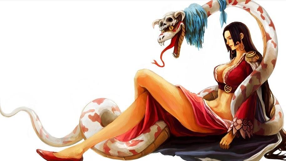 Boa Hancock, One Piece, 4K, #6.97