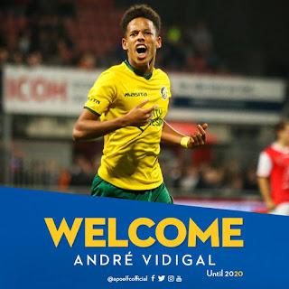 Συμφωνία δανεισμού ANDRE VIDIGAL με Fortuna Sittard.