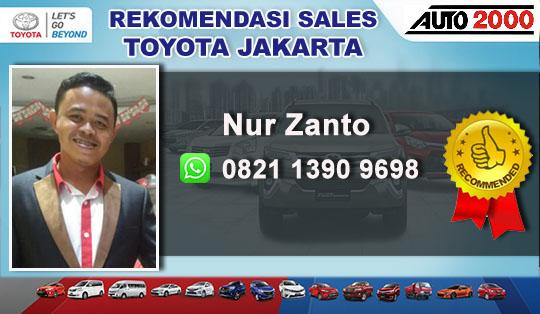 Rekomendasi Sales Toyota Pulo Gadung Jakarta Timur