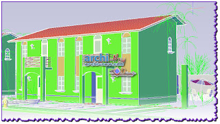 download-autocad-cad-dwg-file-paired-houses-3d