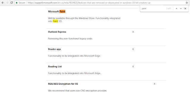 微軟發表的移除表單