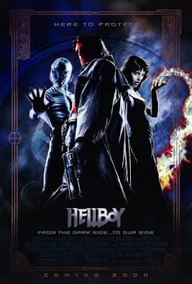 Hellboy 2004 Dual Audio Hindi 720p HEVC BluRay 650MB