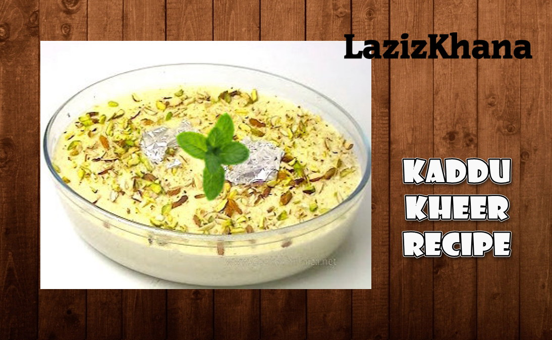 Kaddu Kheer Recipe in Roman English - Kaddu Kheer Banane ka Tarika.