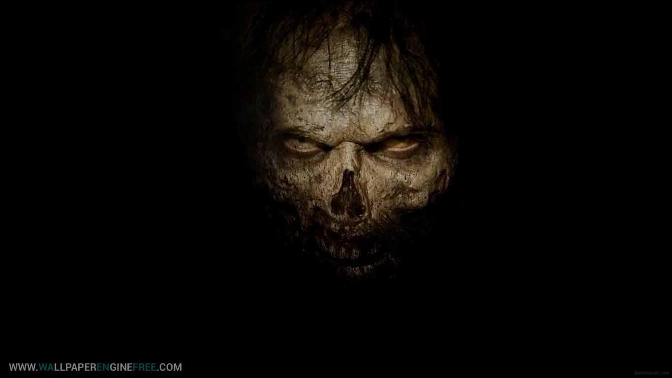 Mystic Zombie Wallpaper Engine - Fake