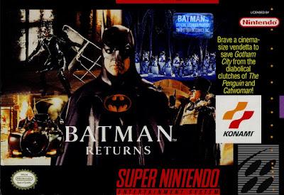 Batman Returns cover