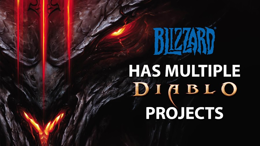 blizzard multiple diablo projects