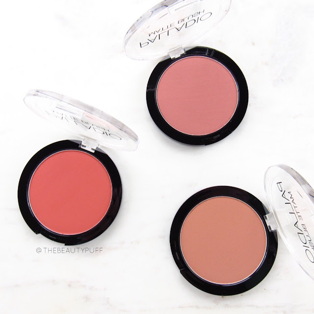 palladio matte blush | the beauty puff