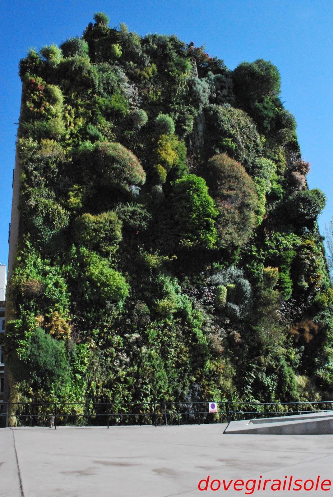 Il giardino verticale di madrid e altre storie for Giardino verticale
