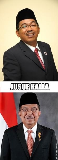WOW!!! Ternyata Tokoh dan Pejabat Indonesia Punya Kembaran di Dunia Lain