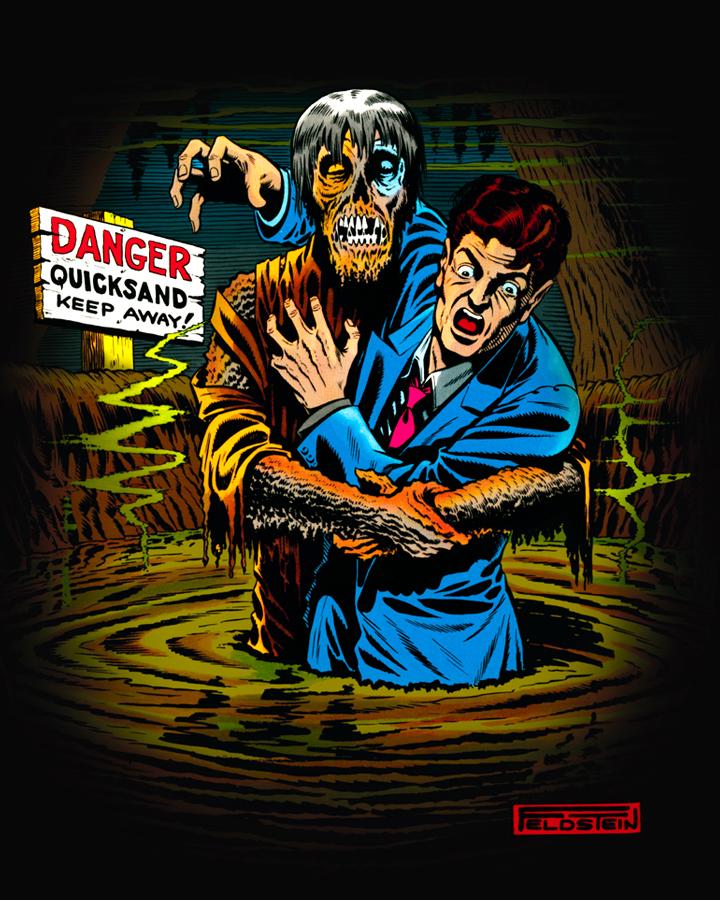 The Horror Honeys: Honey Buzz ~ Fright Rags + EC Comics