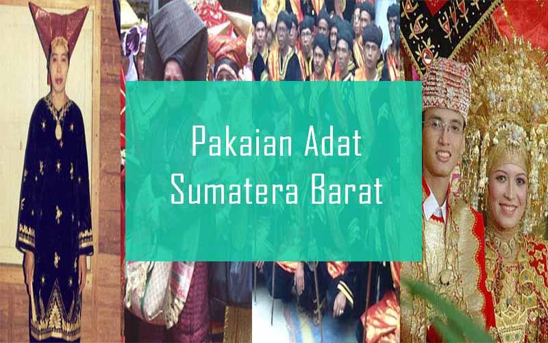 Inilah Pakaian Adat Dari Sumatera Barat (Pria dan Wanita)