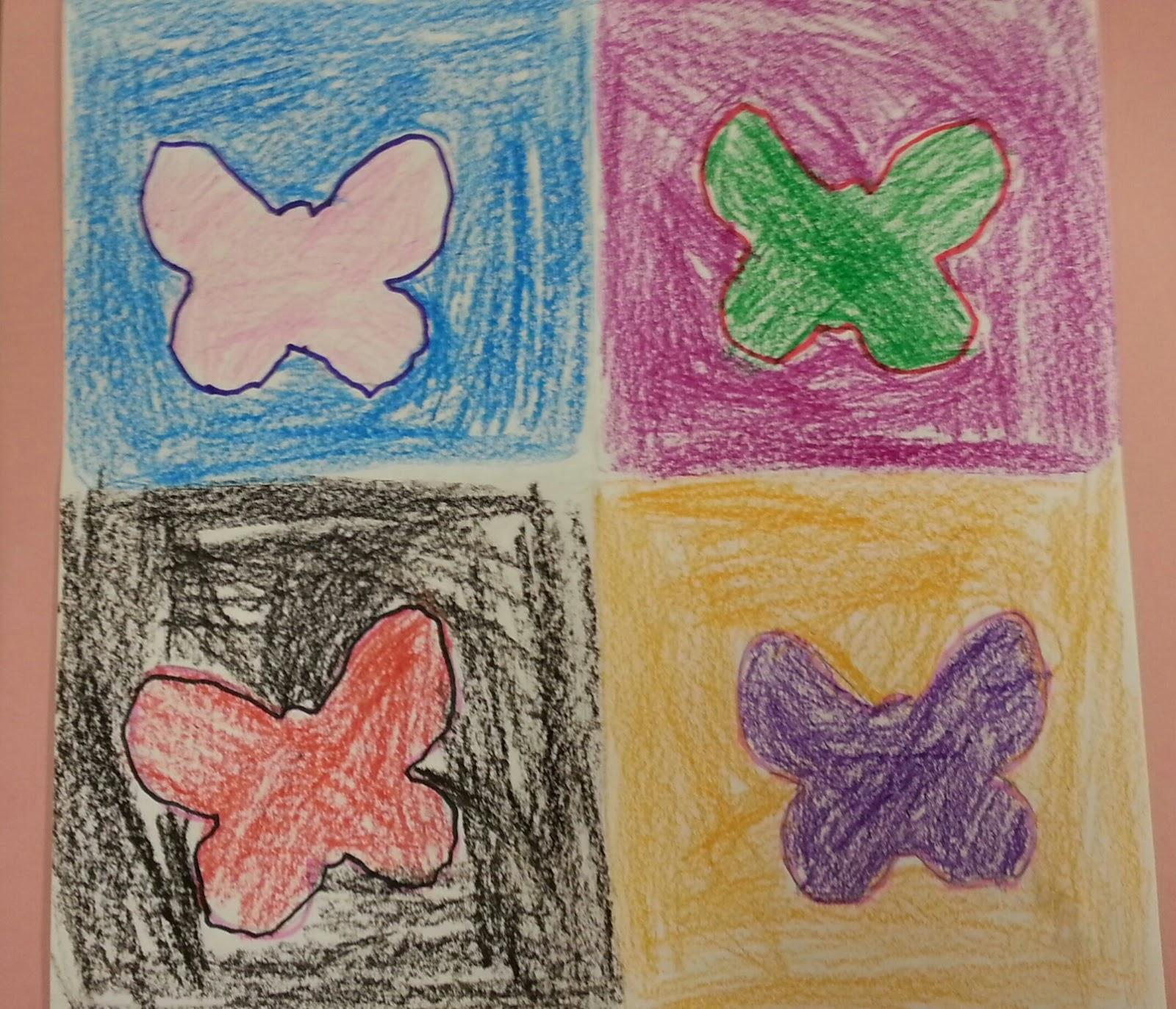 Kindergarten Pop Art With Andy Warhol