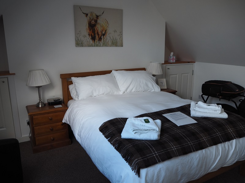 Our room at Aald Harbour B&B in Lerwick