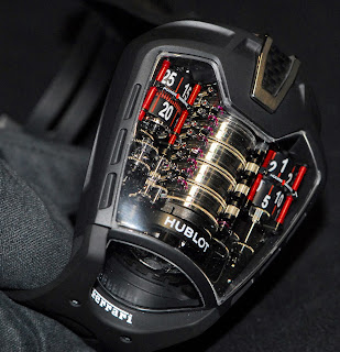 Montre Hublot MP-05 «LaFerrari» référence 905.ND.0001.RX