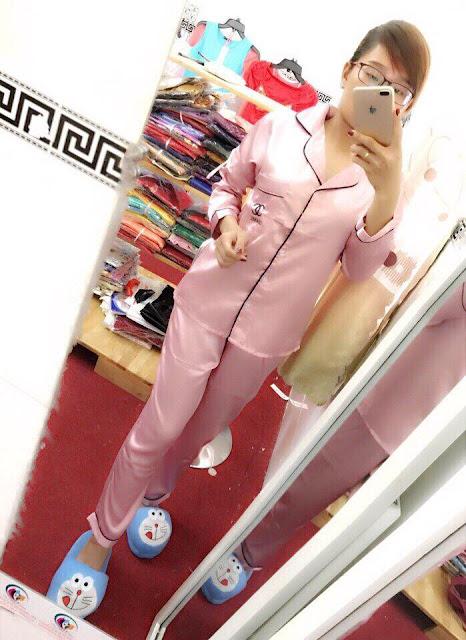Bộ pijama mặc nhà giá rẻ