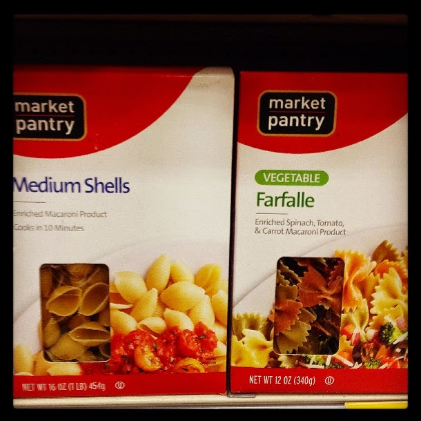 Vegan Vegetarian Food at Target Market Pantry Pasta Shells