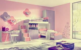 Bedroom Paint Color inspiration daughter Minimalism 2016