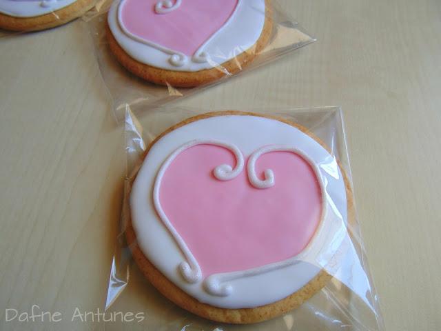 biscoito amanteigado de coração