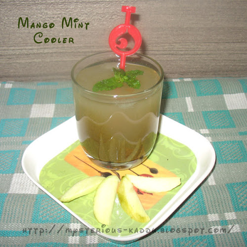 Aam Panna or Mango Mint Cooler Recipe