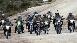 Motor Trail yang Dibawa Jokowi di Wamena