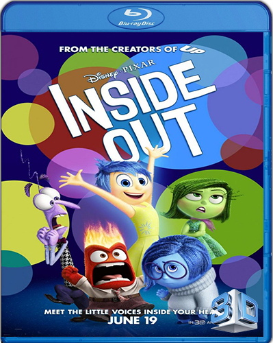 Inside Out [2015] [BD50] [Latino] [3D]